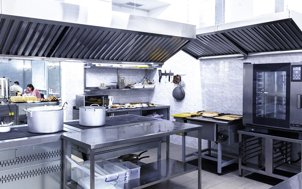 Weisser Großküchentechnik Bäckerei Küche