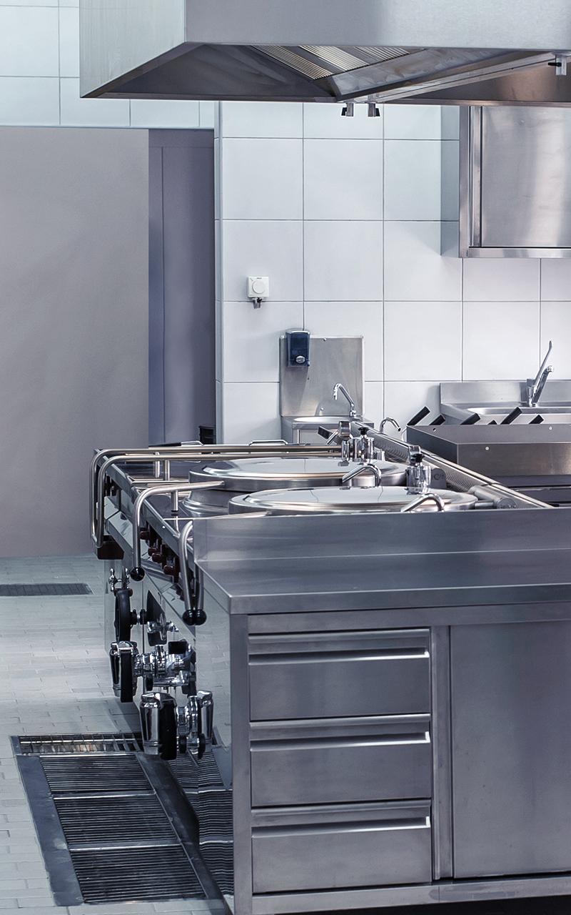 Weisser Großküchentechnik Küche Gemeinschaftsverpflegung