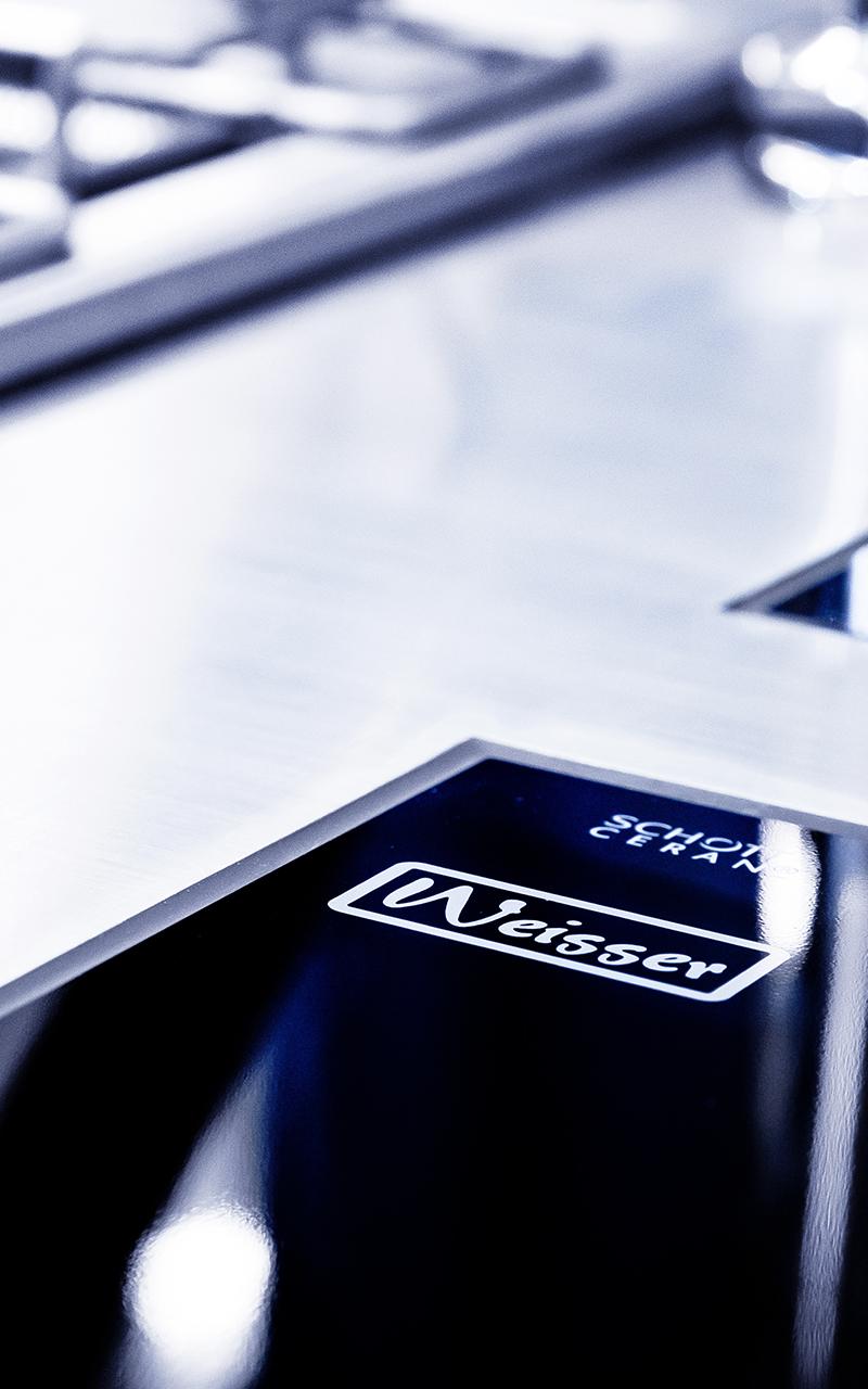 Weisser Großküchentechnik Glaskeramik Logo