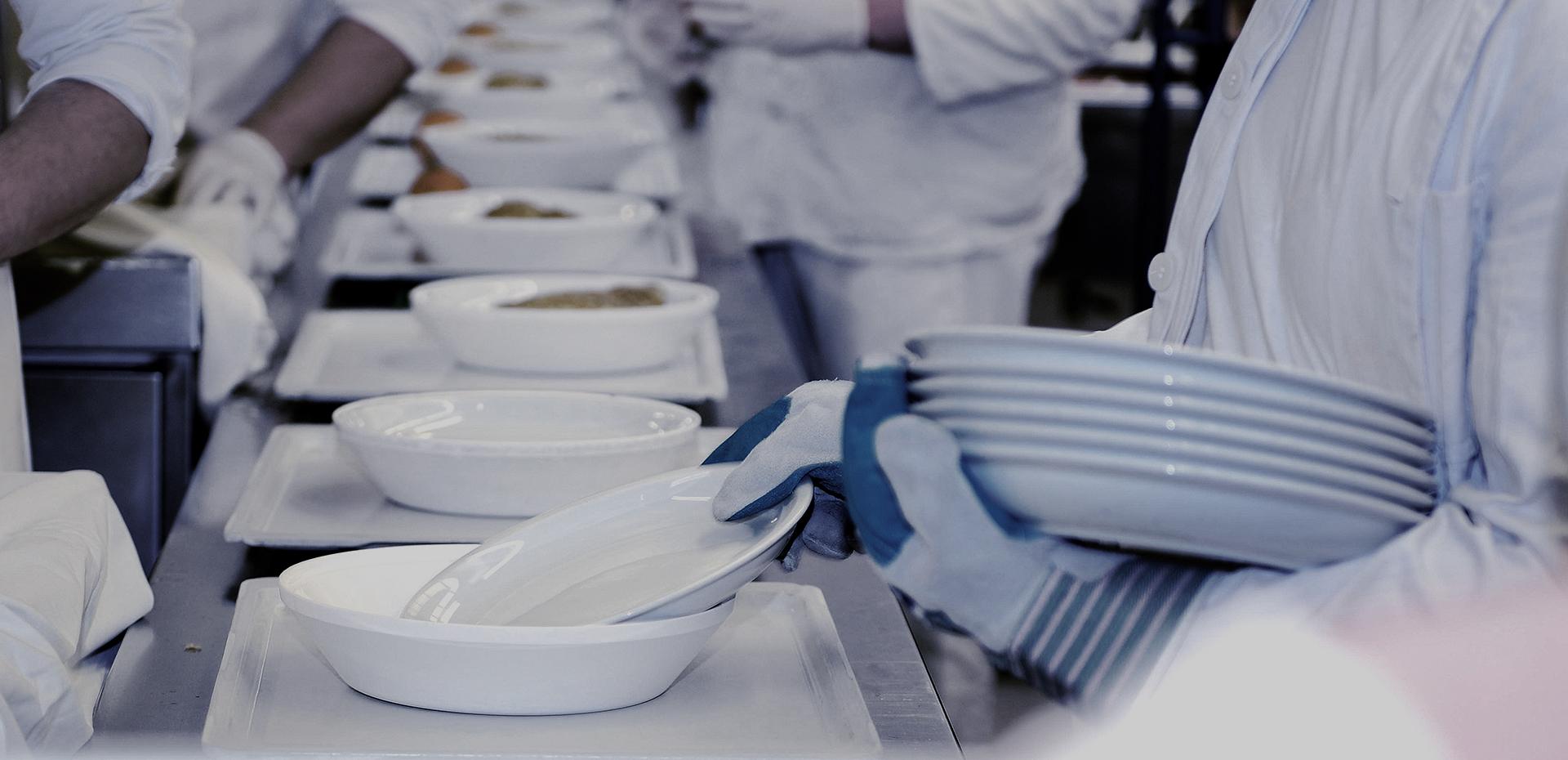 Weisser Großküchentechnik Kantine